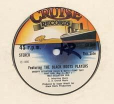 FEATURING THE BLACK ROOTS PLAYERS. Artist: Tony Tuff  Ray I  Madoo  Papa Skinny. Label: Cruise
